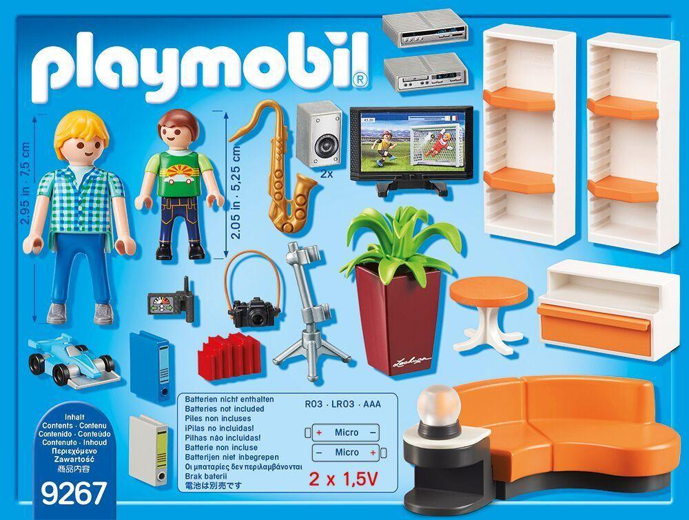 PLAYMOBIL® PLAYMOBIL® 9267 Wohnzimmer jetzt besonders günstig!