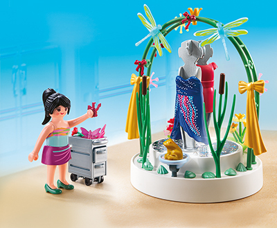 PLAYMOBIL® 5489 Dekorateurin mit LED-Podest
